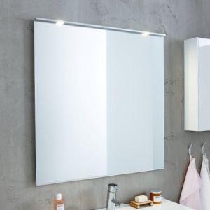 Ifö Option spejl , 90 cm inkl. lysarmatur